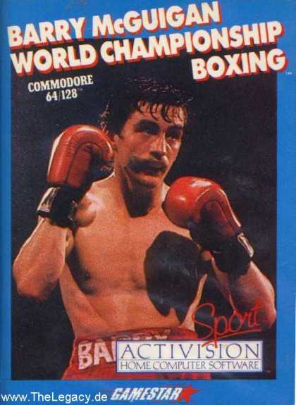 Misc. Games - Barry McGuigan World Championship Boxing