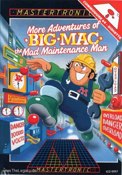 Misc. Games - More Adventures of Big Mac: The Mad Maintenance Man