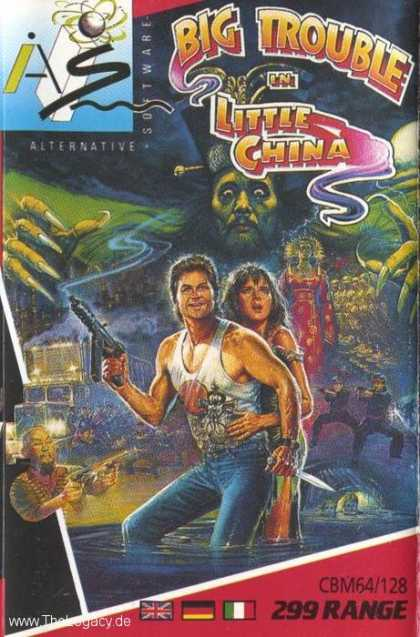 Misc. Games - Big Trouble in Little China