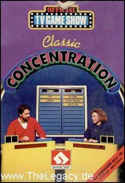 Misc. Games - Classic Concentration
