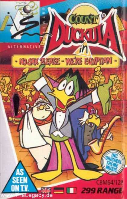Misc. Games - Count Duckula: in No Sax please - we're Eqyptian