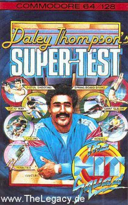Misc. Games - Daley Thompson's: Super-Test