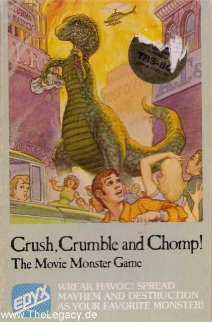 Misc. Games - Crush, Crumble and Chomp!: The Movie Monster Game