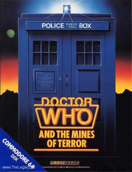 Misc. Games - Doctor Who: and the Mines of Terror