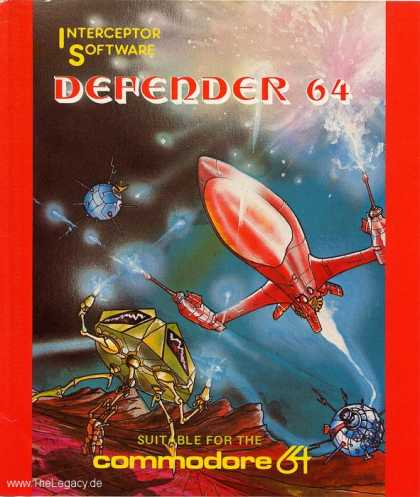 Misc. Games - Defender 64