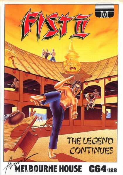 Misc. Games - Fist II: The Legend Continues