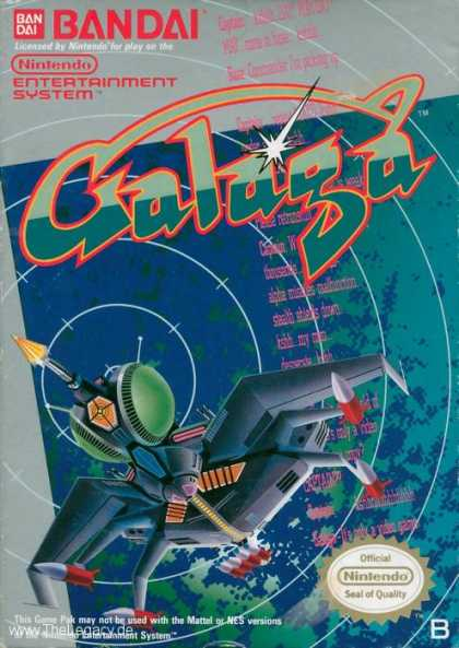 Misc. Games - Galaga