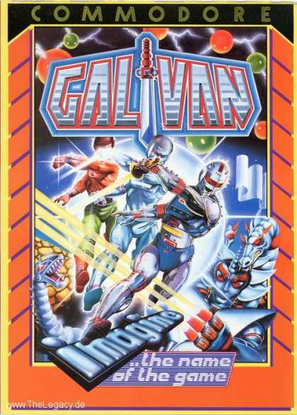 Misc. Games - Cosmo Police Galivan