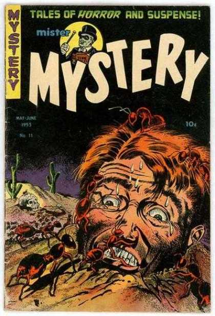 Mister Mystery 11 - May-june 1955 - Tales Of Horror And Suspense - Giant Ants - Cactus - Sweat
