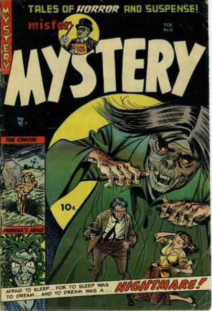 Mister Mystery 15 - Tales Of Horror And Suspense - Mister - Monster - Nightmare - Grave