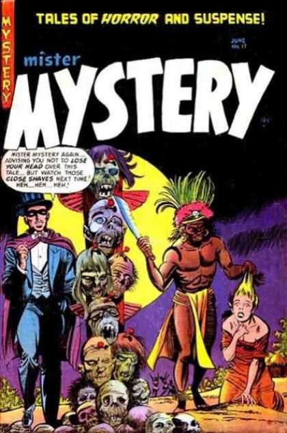 Mister Mystery 17 - Tales Of Horror And Suspense - Mystery - June - Lose Your Head - Next Time