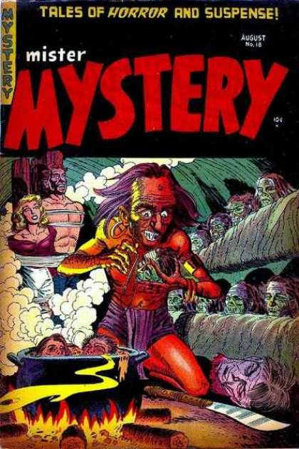 Mister Mystery 18 - Tales Of Horror And Suspense - August No16 - Mystery - Fire - Dead Body