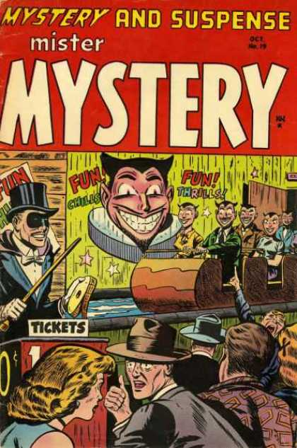 Mister Mystery 19 - Devils - Fun Ride - Carnival - Gawking - Funhouse