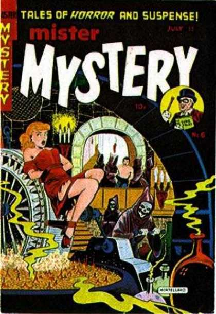 Mister Mystery 6 - Mystery - Mister Mystery - Tales Of Horror And Suspense - Damsel In Distress - Horror
