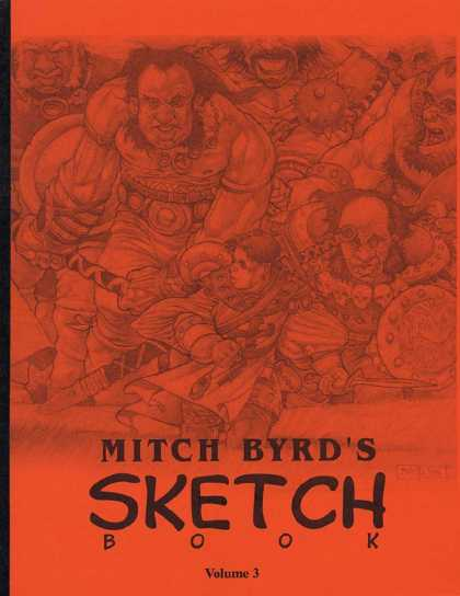 Mitch Byrd's Sketchbook 3
