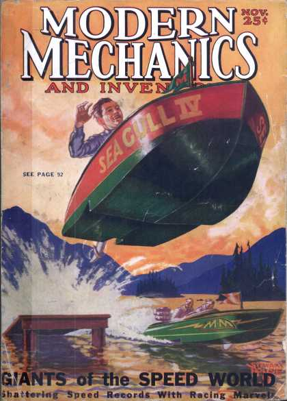 Modern Mechanix - 11-1929