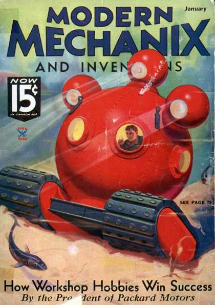 Modern Mechanix - 1-1935