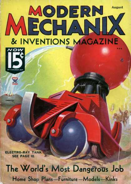 Modern Mechanix - 8-1935