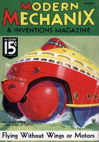 Modern Mechanix - 10-1935