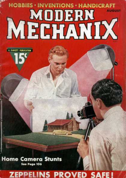 Modern Mechanix - 8-1937