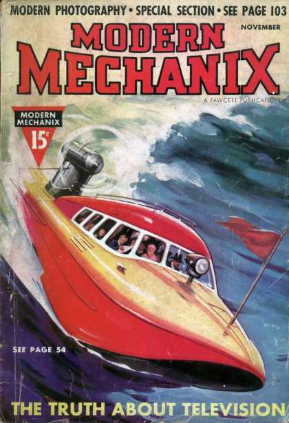 Modern Mechanix - 11-1937