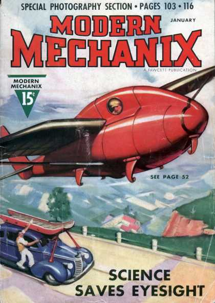 Modern Mechanix - 1-1938