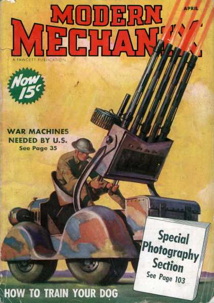 Modern Mechanix - 4-1938