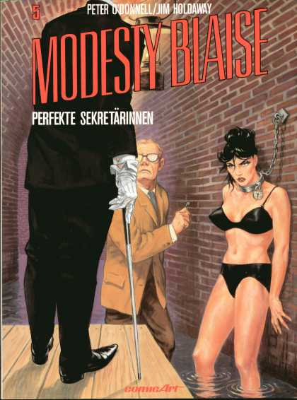Modesty Blaise 5 - Peter Odonnel - Jim Holdaway - Chain - Woman - Comicart