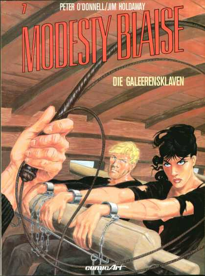 Modesty Blaise 7 - Roller - Whip - Handcuffs - Chains - Hands