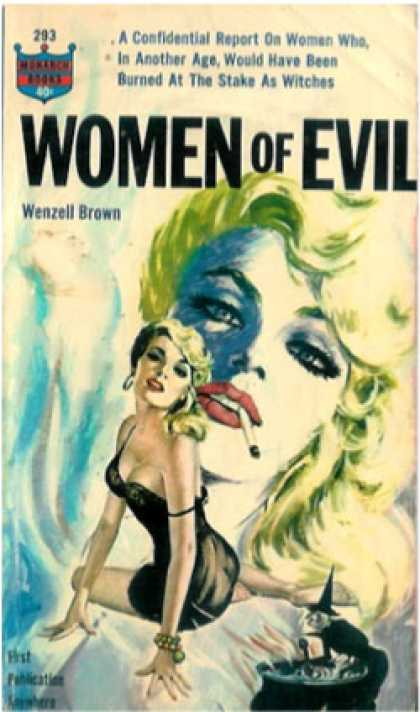 Monarch Books - Women of Evil - Wenzell Brown
