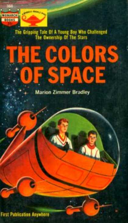 Monarch Books - The Colors of Space - Marion Zimmer Bradley