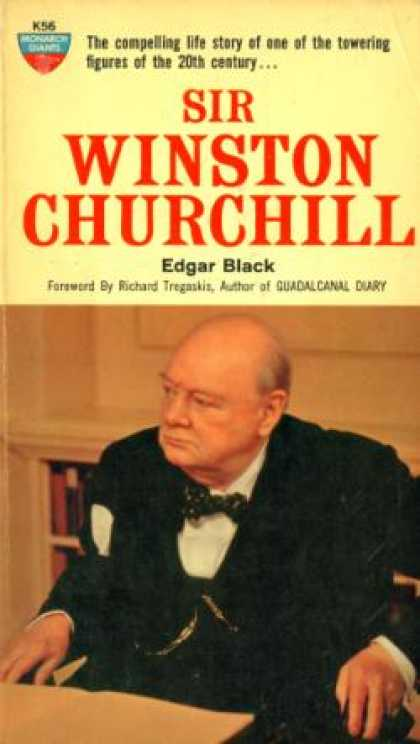 Monarch Books - Sir Winston Churchill - Edgar Black