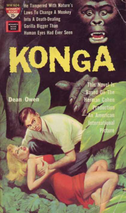 Monarch Books - Konga: A Monarch Movie Book - Dean Owen