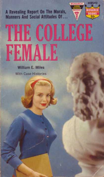 Monarch Books - The College Female - William E. Miles