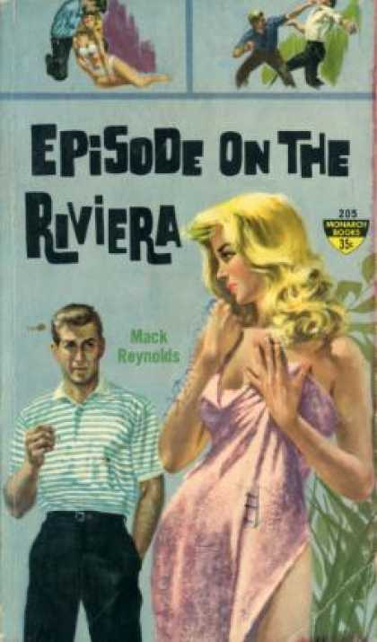 Monarch Books - Episode on the Riviera - Mack Reynolds