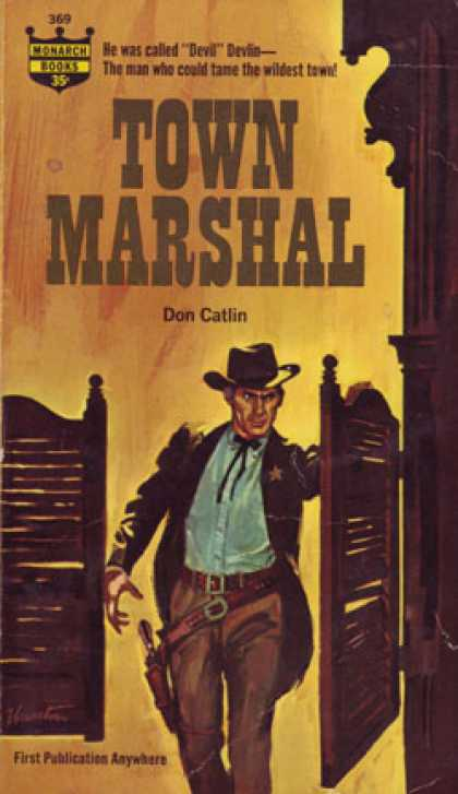 Monarch Books - Town Marshal - Don Catlin