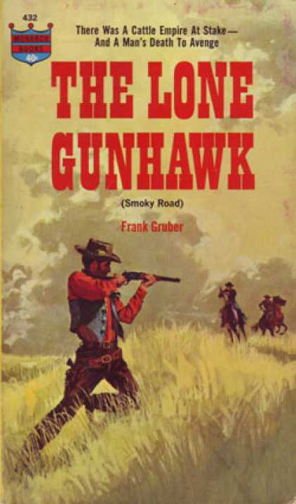 Monarch Books - The Lone Gunhawk - Frank Gruber