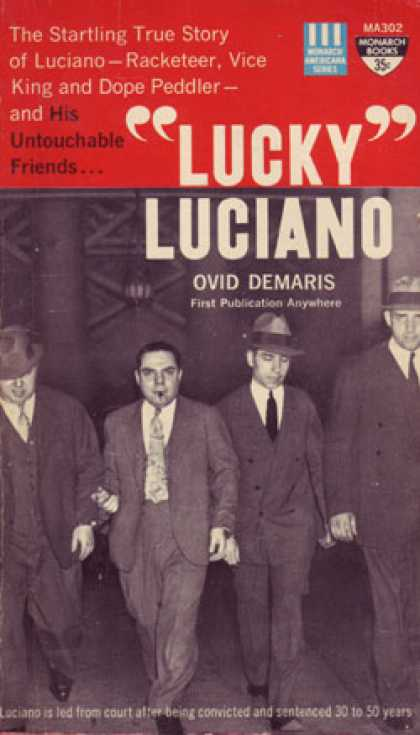 "Monarch Books - ""Lucky"" Luciano - Ovid Demaris"