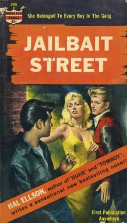 Monarch Books - Jailbait Street - Hal Ellson