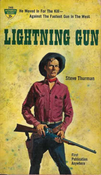 Monarch Books - Lightning Gun - Steve Thurman