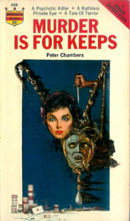 Monarch Books - Murder Is for Keeps - Peters Chambers