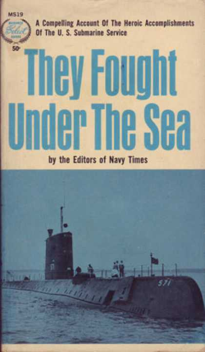 Monarch Books - They Fought Under the Sea - Anonymous