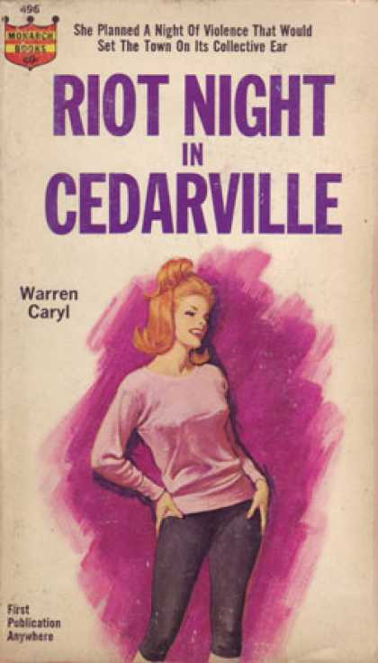 Monarch Books - Riot Night in Cedarville - Warren Caryl