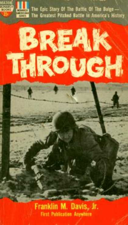 Monarch Books - Breakthrough: The Epic Story of the Battle of the Bulge - Franklin M Davis