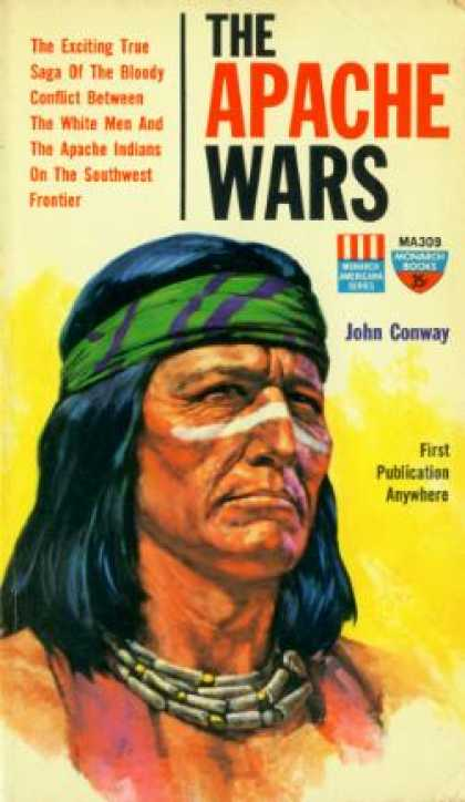 Monarch Books - The Apache Wars - John Conway