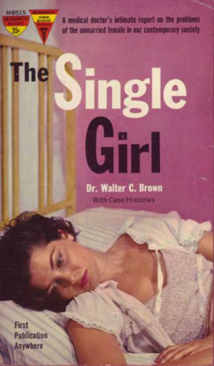 Monarch Books - The Single Girl - Dr. Walter C. Brown