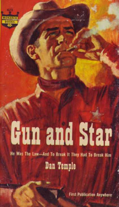 Monarch Books - Gun and Star - Dan Temple