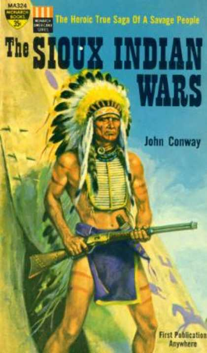 Monarch Books - The Sioux Indian Wars