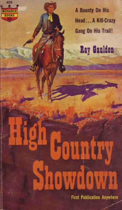 Monarch Books - High Country Showdown - Ray Gaulden