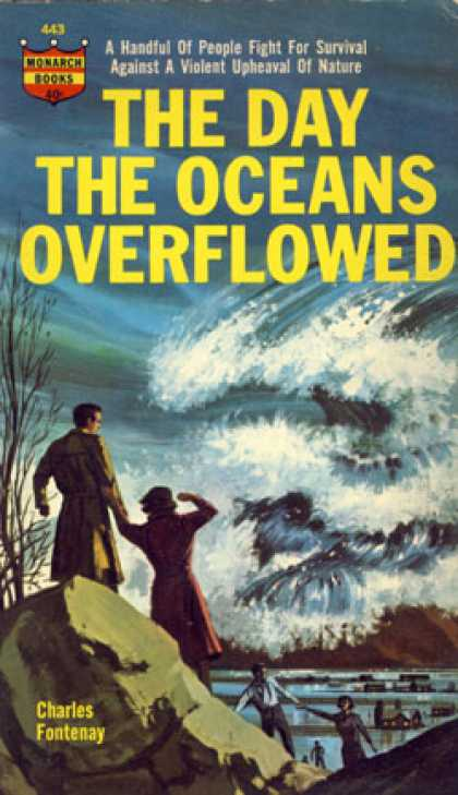 Monarch Books - The Day the Oceans Overflowed: A Science Fiction Novel - Charles L Fontenay